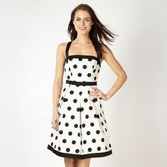 Black and white dress at debenhams