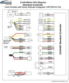 [DIAGRAM_38ZD]  Color color code diagrams | 10+ articles and images curated on Pinterest | electric  bike kits, electric bike battery, electric bicycle | 24 Volt Wiring Diagram Electric Dirt Bike |  | Pinterest