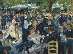Bal du Moulin de la Galette - Auguste Renoir (1876)
