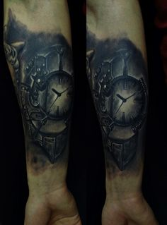 steampunk clock :)