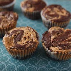 decadent chocolate peanut butter cupcakes