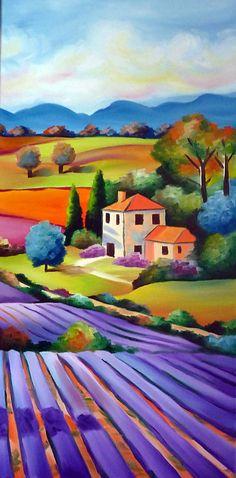 illya / Lavender Field II.