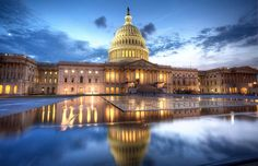 US Capitol in #DC at Dusk by: http://www.abpan.com