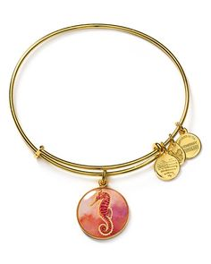 Alex And Ani Art Infusion Seahorse Expandable Wire Bangle