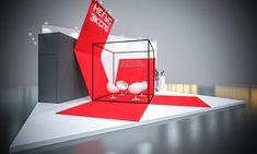 NEGUS EXPO 2017 on Behance Exhibition Stall, Exhibition Stand Design, Stage Design, Event Design, Trade Show Design, Booth Decor, 2017 Design, 3d Studio, Environmental Design
