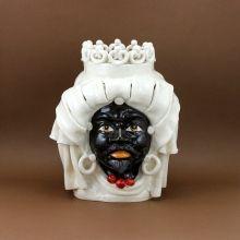 Testa Ceramica Moro B.