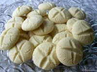 Polvorosas Recipe - and a bunch more Venezuelan recipes. Best Cookie Recipes, Sweet Recipes, Snack Recipes, Dessert Recipes, Cooking Recipes, Snacks, Guatemalan Desserts, Guatemalan Food, Venezuelan Food