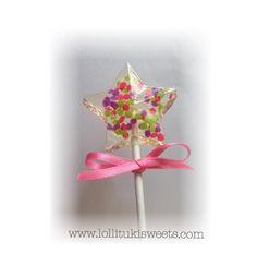 A personal favorite from my Etsy shop https://www.etsy.com/listing/462166841/12-dozen-of-star-confetti-lollipops-15