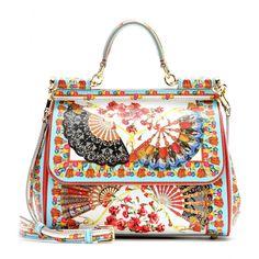 mytheresa.com - Miss Sicily Mini leather shoulder bag - Shoulder bags - Bags - Dolce & Gabbana .