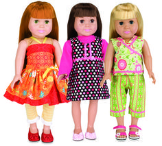 Pinterest+American+Doll+Clothes+Pattern | 30 minute doll clothes 3 dolls