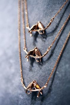 The Two Turtle Doves Necklace in rose gold plate. Available at @Liberty London and our own boutique in #bermondsey.
