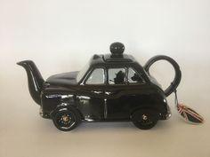 Kensington Potteries Black Taxi Teapot