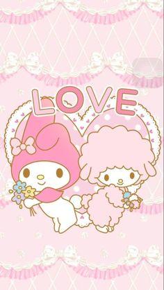 マイメロディ4 iPhone壁紙 Wallpaper Backgrounds iPhone6/6S and Plus My Melody iPhone Wallpaper