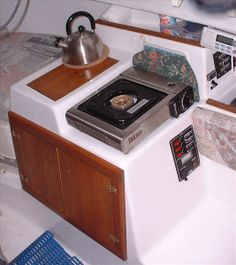 Seaward Fox Galley Starboard Side Image By Thomas Panfile