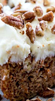 Carrot Cake Bars with Coconut Cream Cheese Frosting