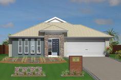 GJ Gardner Home Designs: Currumbin 218 Facade 1. Visit www.localbuilders.com.au/builders_queensland.htm to find your ideal home design in Queensland