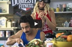 DOMESTIC FITNESS - cooking