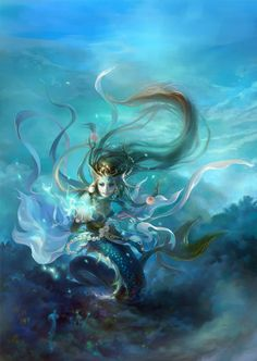 Mermaids and Fantasy Art and Illustrations - 24-Trading Cards - NEW!