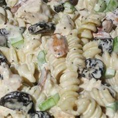 Cherry Chicken Pasta Salad Allrecipes.com