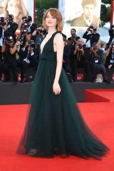 Emma Stone  - Birdman Premiere in Valentino