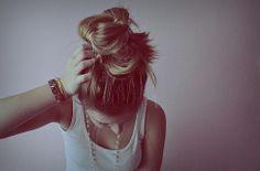 gorgeous hair bun