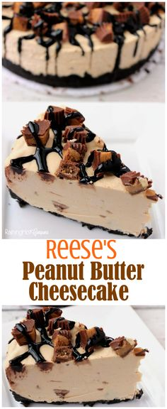 reese's peanut butter cheesecake is full of chocolate, peanut butter and is super delicious!