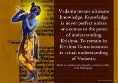 Ultimate Knowledge  For full quote go to: http://quotes.iskcondesiretree.com/srila-prabhupada-on-ultimate-knowledge/  Subscribe to Hare Krishna Quotes: http://harekrishnaquotes.com/subscribe/  #Knowledge