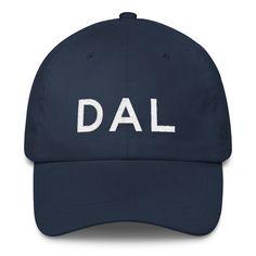 5ba3a856f16 DAL Dallas (Love Field) Airport Code Classic Dad Cap