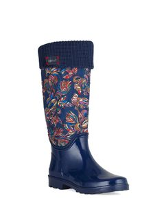 Reprise Quilted Rainboot