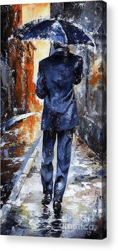 Rain Day #20 Acrylic Print by Emerico Imre Toth. All acrylic prints are professionally printed, packaged, and shipped within 3 - 4 business days and delivered ready-to-hang on your wall. Choose from multiple sizes and mounting options.