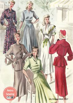 The Haslam System of Dressmaking No. 20  1950's  PDF