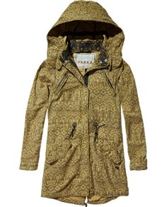 See more Long Comfy Super Parka Khaki Jacket--I totally want this for winter! Winter Wear, Autumn Winter Fashion, Khaki Jacket, Online Shops, Couture, Sweater Weather, Swagg, My Wardrobe, Style Me