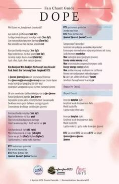 There are three types of fanchants for BTS. There is almost always either the first or second ones in BTS songs and always the third types. The first type (and most common) is chanting all the member's names completed with a shout of BTS! Pop Lyrics, Bts Song Lyrics, Bts Lyrics Quotes, K Pop, Memes Bts Español, Collage Des Photos, Bts Wallpaper Lyrics, Song Words, Bts Twt