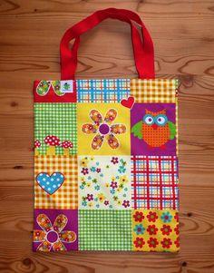 Einkaufstaschen - Stofftasche - ein Designerstück von Gluecksfrosch bei DaWanda