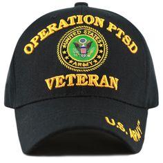Official Licensed Operation PTSD Vietnam Veteran 3D Baseball Cap 8a8fdc26c91e