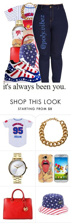 """""""Been About You and I'm still About You//Drake -Jayy"""" by xo-mindless ❤ liked on Polyvore featuring *Accessories Boutique, Nixon, HUF, Samsung, MICHAEL Michael Kors, Neff and Forever 21"""