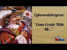"""Cybernodebergerac - """"Come Create With Me"""" is a chance for Cyberno to reach to connect with his audience and do a collaborative poem. Week by week the poem is built till the end comes."""