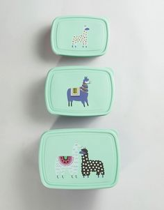 Paperchase Llama Snack Boxes
