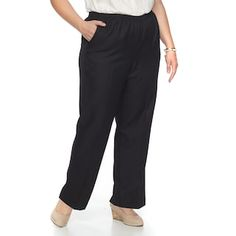 Plus Size Alfred Dunner Studio Pull-On Pants