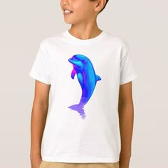 EDM Electronic Dance Techno Neon Rave Dolphin T-Shirt - dance music dancing unique special diy
