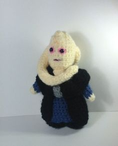 NEW! Bib Fortuna -Star Wars inspired crochet character by pamcrafteduk on Etsy
