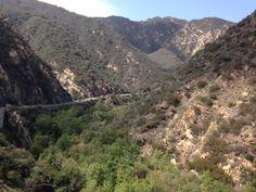 The beauty of Malibu Canyon.