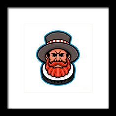 Mascot Framed Print featuring the digital art Beefeater Or Yeoman Head Mascot by Aloysius Patrimonio Hanging Wire, Retro Fashion, Fine Art America, Digital Art, Framed Prints, Artwork, Fictional Characters, Work Of Art, Auguste Rodin Artwork