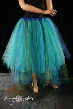 formal adult tutu skirt mermaid Dancer Wedding by SistersOfTheMoon, $125.00