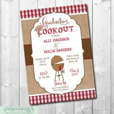Graduation party invitation cookout printabledigital hats off graduation party invitation cookout printabledigital hats off pinterest party invitations digital and filing filmwisefo