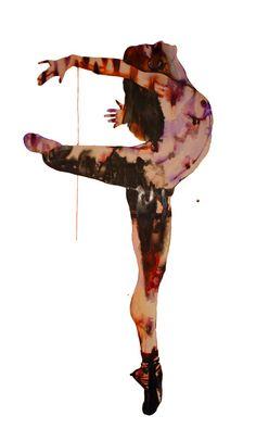 "Saatchi Online Artist: Helen Gorrill; Ink, 2011, Painting ""Salome dancing for the head of St John"""