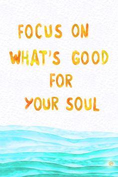 #Good #Soul