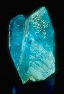 Phosphophyllite crystals from Potosi