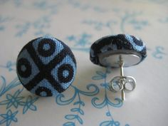 Malaika- African Fabric Covered Button
