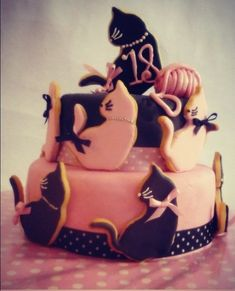 cake cats / tarta de Gatos